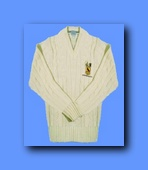 Plain Cricket Sweater 100% Acrylic